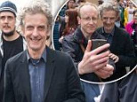 Doctor Who joins the March for Science in London
