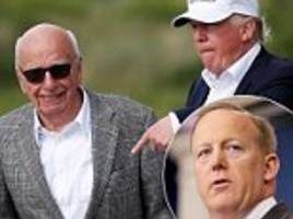 rupert murdoch phones trump every week to talk strategy