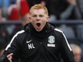 hibernian boss neil lennon labels his players pathetic