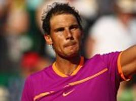 rafael nadal beats david goffin to reach monte carlo final