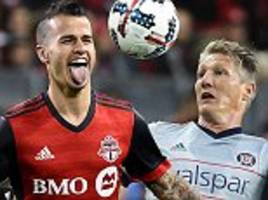 Toronto 3-1 Chicago: Bastian Schweinsteiger suffers loss