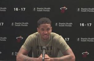 rodney mcgruder thankful rookie season came with special heat team