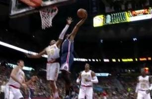 This ridiculous coast-to-coast John Wall dunk is the highlight of the playoffs so far