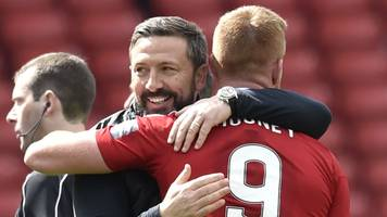 aberdeen: derek mcinnes lauds team effort to make scottish cup final