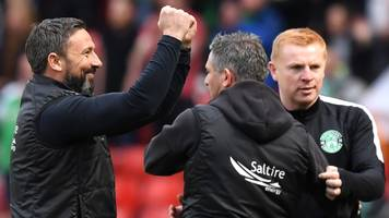 Hibernian 2-3 Aberdeen: Derek McInnes edges Neil Lennon in tactical battle