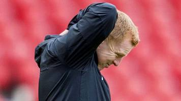 hibernian 2-3 aberdeen: 'pathetic' start cost hibs says boss neil lennon