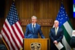 De Blasio Challenges Sessions To 'Come To New York' And Tell NYPD Officers They're Soft On Crime