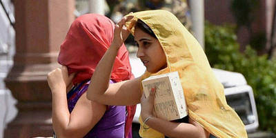 western disturbance over j&k likely to bring respite from scotching heat in northern india