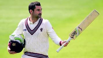 Lancashire v Somerset: Hosts rally after South African Test star Dean Elgar's century