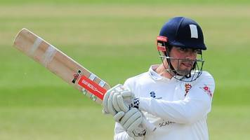 middlesex v essex: ex-england captain alastair cook makes 14 as hosts dominate
