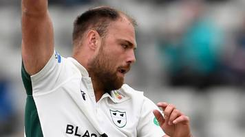 Worcestershire v Northamptonshire: Joe Leach takes 10 wickets in match to lead Worcs to victory