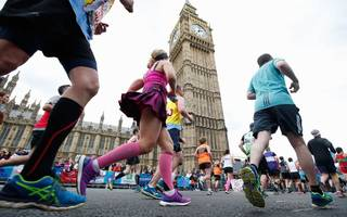 Tomorrow's London Marathon runners will cover much more than 26.2 miles