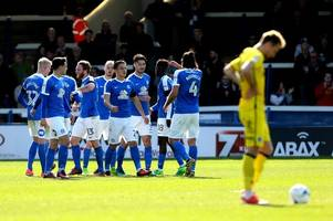 Bristol Rovers capitulate to Peterborough United as their play-off quest is ended emphatically