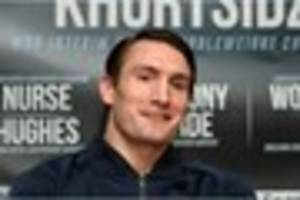 Boxer Tommy Langford ready for tonight's big WBO Interim...
