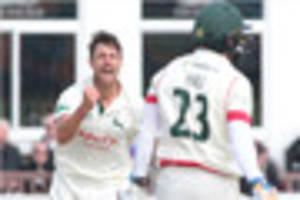 nottinghamshire offered a dozen replacements for james pattinson...