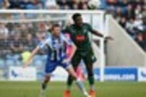 colchester united 0 plymouth argyle 0:  pilgrims stay in the...
