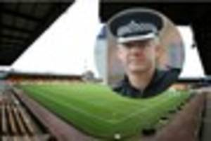 extra police brought in as 4,400 away fans arrive for port vale's...