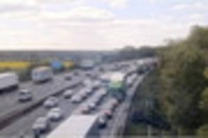 Traffic LIVE: Two lanes of the M6 closed after accident