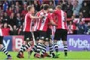 Exeter City 3 Morecambe 1: Social media reacts to dramatic win