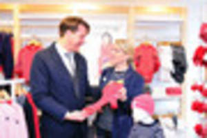 Swedish children's clothing firm is first business to move into...