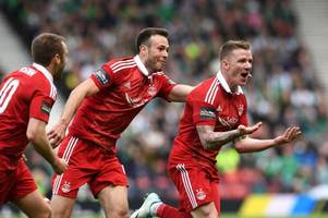 hibs 2 aberdeen 3 as jonny hayes' late strike takes dons to first final in 17 years - 3 things we learned