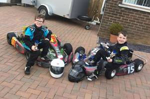 young connor dolan is doing well in karting, but needs financial help