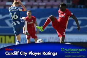 the cardiff city player ratings as bruno manga reminds bluebirds of what they could be losing this summer