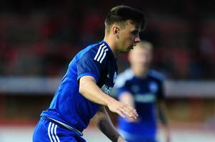 Who is Mark Harris? Wales under-19 international to make league debut for Cardiff City against Wigan