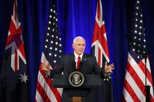 pence says united states will honor refugee deal with australia