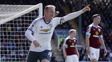 Wayne Rooney marks Manchester United return with goal against Burnley
