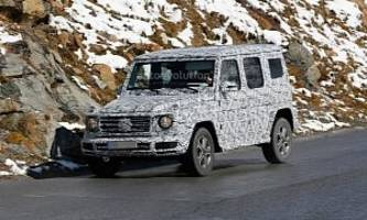 2018 mercedes-benz g-class to retains a single exterior part from old model