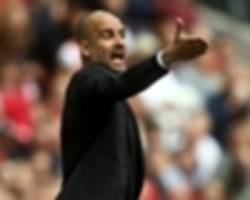 Guardiola admits Manchester City struggled with Arsenal's long balls