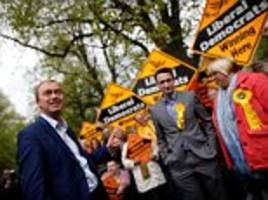 Lib Dems won't form a coalition government
