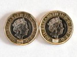 Surrey man finds fake version of the new £1