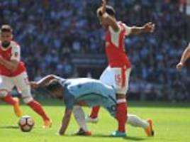 referee craig pawson had an fa cup semi-final to forget