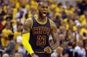 LeBron James powers Cavs past Pacers to complete first-round sweep