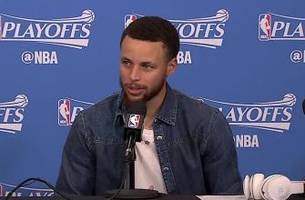 steph curry knew he had to assert himself during game 3 in portland
