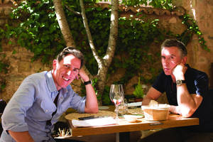 'the trip to spain' review: steve coogan and rob bryden impersonate caine mainly on the plain