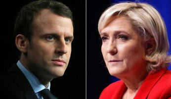 macron and le pen move to the 2nd round: what happens next, according to goldman and citi