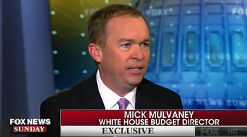mulvaney: deal to avoid government shutdown could come today but won't due to border wall