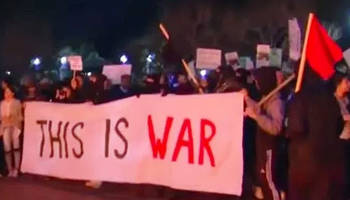 there will be blood: left prepares for war after berkeley beat down with combat training, better equipment, guns...