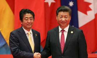 trump to discuss north korea in sunday call with china's xi, japan's abe