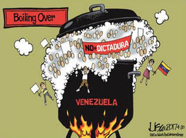 venezuela on the verge of revolution as hyperinflated currency crashes to new record low