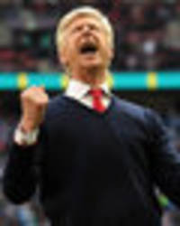 Arsene Wenger: Arsenal boss goes absolutely crazy after win over Man City