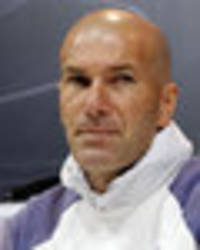Real Madrid coach Zinedine Zidane plays down the importance of Barcelona game