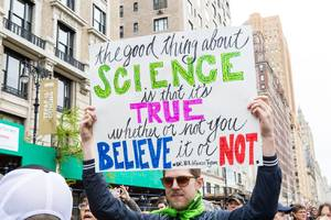 Here are our favorite signs from New York's March for Science