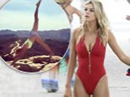 Baywatch newcomer Kelly Rohrbach had 10 swimsuit fittings