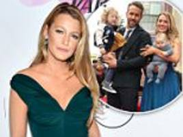 blake lively declares love for children with ryan reynolds