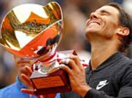 rafael nadal claims 10th monte carlo masters title