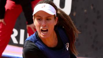 fed cup: johanna konta beaten by simona halep as gb fall behind - 5 great shots